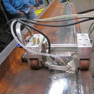 Ultrassom industrial automatizado